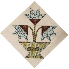 Mar Carolina Lily Quilt Pattern | Found on doodle-head.com