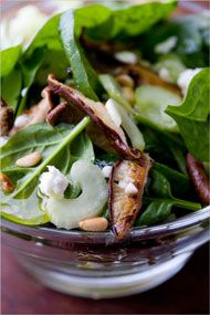 Recipes for Health - Spinach Salad With Seared Shiitake Mushrooms - NYTimes.com