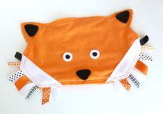FOX Woodland Animal Ribbon Tag Baby Blanket by LifeInTheSassLane, $24.00