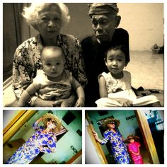 "My Grandparent's and My Sister :* :"")"