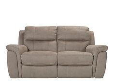 Recliner Sofa Everyone in the family will love this Dwyer microfiber reclining loveseat Each of the