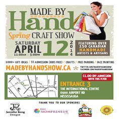 The Spring @Made by Hand is almost here! #Mississauga #giveaway | CanadianMomEh