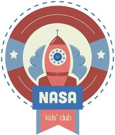 Logo Redesign // Nasa Kids' Club by Molli Ross, via Behance