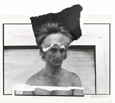 Larry Rivers, painter, South Hampton,  New York 1975 Gelatin silver print