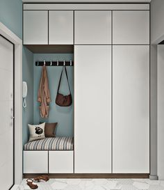 Wardrobe Room, Wardrobe Design Bedroom, Hallway Furniture, Deco Furniture, Hallway Designs, Closet Designs, Boot Room Utility, Hall Design, House Entrance