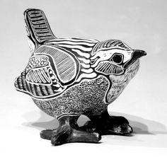 Marsh Wren Sculpture about 5h porcelain. by ChristensenPorcelain, $400.00