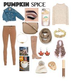 """Pumpkin spice girl"" by rainn1233 on Polyvore featuring Tom Ford, AG Adriano Goldschmied, Sam Edelman, Balenciaga, CÉLINE, Casetify, Old Navy, SIJJL, Chanel and Dolce&Gabbana"
