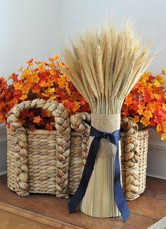 DIY Wheat Bundle on the Make It: Fun® Blog! via @madeinaday