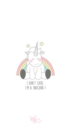 Unicorn quotes wallpaper for phones Iphone Wallpaper Unicorn, Unicornios Wallpaper, Unicorn Backgrounds, Phone Backgrounds, Unicorn Lockscreen, Trendy Wallpaper, Wallpaper Quotes, I Am A Unicorn, Rainbow Unicorn