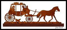 Scrollsaw Workshop: Wedding Carriage Scroll Saw Pattern.