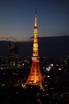 TokyoTower (2 Jan 2015)