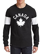 Maple Leaf Long Sleeve T-Shirt - medium - now on sale at The Bay