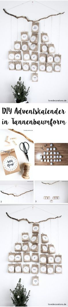 DIY Adventskalender in Tannenbaumform mit Personello* + Give Away - Love Decorations Mary Christmas, Diy Christmas Tree, Christmas Wedding, Christmas Presents, Christmas Time, Advent Calenders, Diy Advent Calendar, Ramadan Crafts, Christmas Crafts