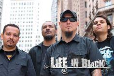 Resenha do Rock: Life In Black: gravação do primeiro álbum chegando...