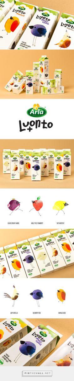 "Arla Luonto+ Yoghurt on Behance - created via <a href=""https://pinthemall.net"" rel=""nofollow"" target=""_blank"">pinthemall.net</a>"