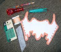 making a doll corset