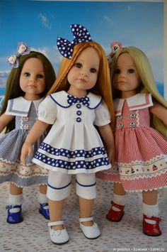 """Опоздавшие на """"Полосатый рейс"""" / Одежда и обувь для кукол своими руками / Бэйбики. Куклы фото. Одежда для кукол"""
