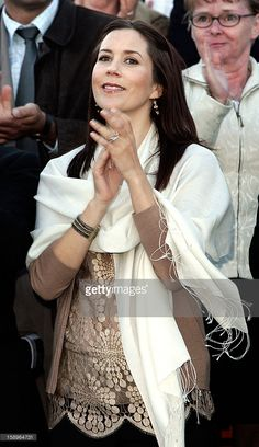 August 4, 2005--Crown Prince Frederik & Crown Princess Mary Of Denmark Attend The World Premiere Of Hans Christian Andersen'S 'The Little Mermaid' At The Black Diamond In Copenhagen.
