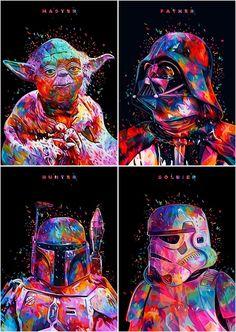 Star Wars fanarts beauty