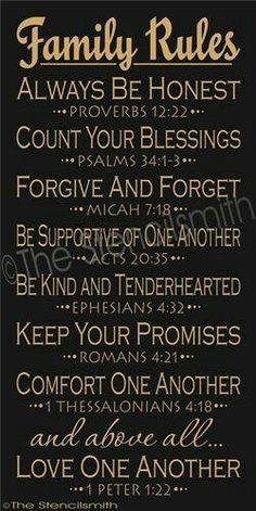 Family Rules stencil bible home bible verse script Bible Scriptures, Bible Quotes, Me Quotes, Qoutes, Rules Quotes, Gospel Quotes, Biblical Verses, Famous Quotes, Great Quotes