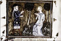from MS. Selden Supra 57 Le roman de la rose 1348, Paris