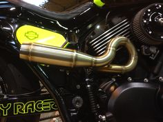 Mini exhaust on a 48