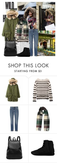 """""""warm up when it's cold"""" by anabejb ❤ liked on Polyvore featuring Malaika, Chicnova Fashion, Karl Lagerfeld, Victoria, Victoria Beckham, adidas, women's clothing, women's fashion, women, female and woman"""