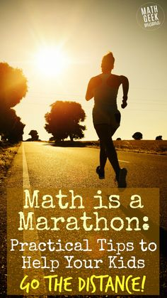 Worried your kids or students aren't adequately developing mathematical thinking skills? Learning math in a deep, meaningful way is a marathon, not a sprint. Read the full post for ideas and practical tips to help your kids go the distance…