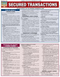 UCC Article 9 Charts - Secured Transactions by Bill_Brasky in Types > Business/Law, ucc, and law school outlines Business Management, Business Planning, Office Management, Business Money, Business Ideas, Law Notes, Upsc Notes, Online Nursing Schools, Harvard Law