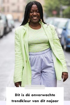 Lime green fall trend color | woman | streetstyle | brown skin girl | fashionc| fashionchick | styling
