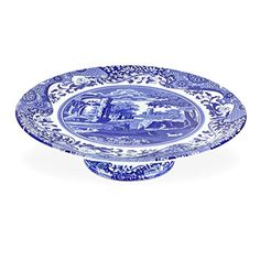 Blue Italian Cake Stand #spode #cake #plate