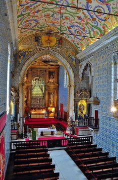 Capela de São Miguel, Coimbra, Portugal  https://www.facebook.com/Maladviagem/