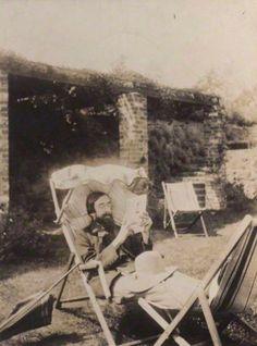 Lytton Strachey, 1915. National Portrait Gallery