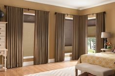 Cellular Shades and Pleated Draperies