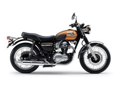 """With a limited number available, fans and enthusiasts across Europe have a last chance to experience the contemporary descendant of the famous W series that first emerged from the Kawasaki factory in Akashi, Japan. Christened the W800 """"Final Edition"""", the last model in the line is resplendent in its remarkable Candy Brown and Candy Sunset Orange paint scheme."""