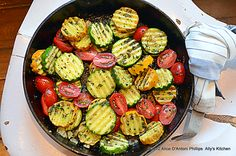 peasant herb summer veggies|side dish recipes|ally's kitchen