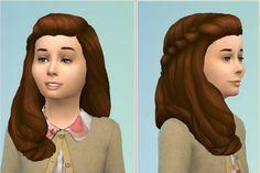 Birksches sims blog: Girly Romantic Garden Hair - Sims 4 Hairs - http://sims4hairs.com/birksches-sims-blog-girly-romantic-garden-hair/