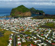 Vestmannaeyjar sits on the island of Heimaey, the largest of the 14 islands in the Westman Islands archipelago. Archipelago, Where To Go, Iceland, Tourism, Dolores Park, Most Beautiful, Around The Worlds, Vacation, Places