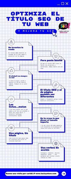 Cómo optimizar títulos para el posicionamiento web (consejos prácticos) Decir No, Seo, Diagram, Action Verbs, Useful Life Hacks, Summary