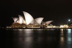 Sydney Opera House at night, Sydney