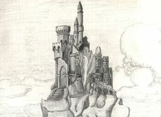 fantasy architecture drawings - Google Search