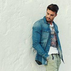 Casual clothing!! #style #fashion    @Mariano Di Vaio