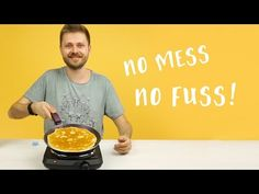 How to Make Clever Pancake Mix Lifehack - Tips & Hacks - Handimania What's For Breakfast, Breakfast Recipes, Easy Cooking, Cooking Recipes, How To Make Pancakes, Making Pancakes, Crepes And Waffles, No Cook Desserts, Russian Recipes