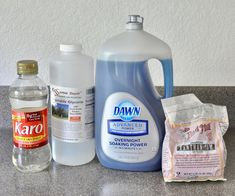 How to Make Bubbles - the Best Homemade Bubble Solution : 5 Steps (with Pictures) - Instructables Bubble Solution Recipe, Homemade Bubble Solution, Homemade Bubbles, Giant Bubble Wands, Giant Bubbles, Blowing Bubbles, Gelatin Bubbles, Soap Bubbles, Glass Jars