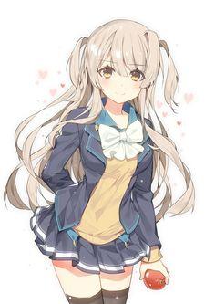 Risultati immagini per anime girl in school uniform