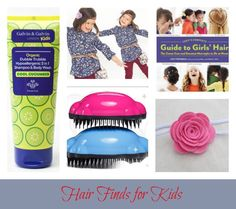 Friday Finds: Hair Finds for Kids www.tadpoleandlily.com