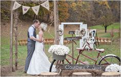 Vintage Barn Wedding in the Smoky Mountains | photos by http://mhmphotography.net | see more http://www.thebridelink.com/blog/2013/12/05/vintage-wedding-at-the-barn-at-chestnut-springs/