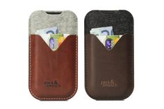 iPhone 5s/5 iPhone 5c wallet case cover KIRKBY by packandsmooch