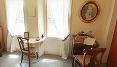 Louisa May's writing room.