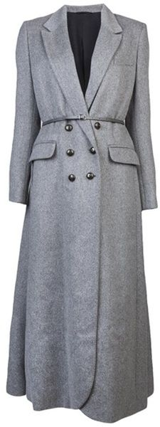 TIM VAN STEENBERGEN Long Sleeve Coat